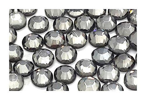 pack-of-1440-gems-black-diamond-ss10-3mm-eimassr-7767-dmc-hot-fix-flat-back-rhinestones-glass-diaman