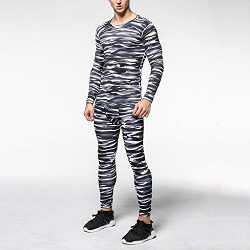 MagiDeal Pantaloni Sportivi di Compressione Ciclismo Yoga Leggings per Uomo #1