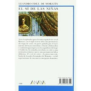 El sí de las niñas (Clásicos - Biblioteca Didáctica Anaya)