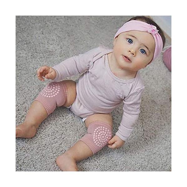 YaptheS unisex infantiles de seguridad del bebé de arrastre del codo Cushion Niños rodilleras protector calentadores de… 3