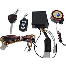 Alarma para moto universal de 1 vía. Sencilla, potente y fácil instalación