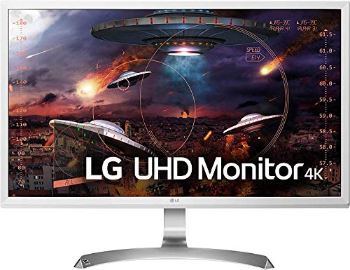LG 27UD59-W 68,58 cm (27 Zoll) UHD 4K IPS Monitor (AMD FreeSync, DAS Mode, Game Mode) weiß