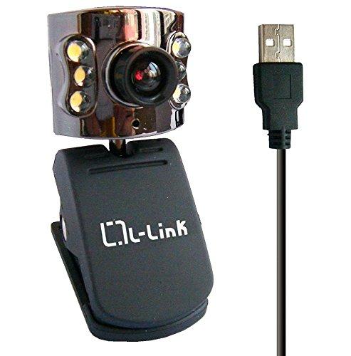L-Link LL-4184 cámara web - Webcam (8 MP, 10x, USB 2.0, Negro, Puesto