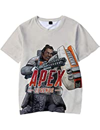 2d9ca234e FLYCHEN Camiseta para Mujeres Juego Apex Legends 3D Impreso Big Escape Game  Women s Fashion Shirt Casual