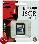 Kingston SDHC Class 4 Secure Digital (SDHC) Scheda di memoria  SD 16 GB