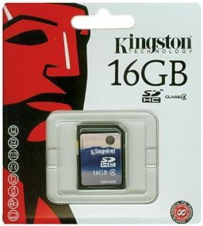 Kingston SDHC - Tarjeta de Memoria de 16 GB (Clase 4) (B0013AV9TW)   Amazon price tracker / tracking, Amazon price history charts, Amazon price watches, Amazon price drop alerts