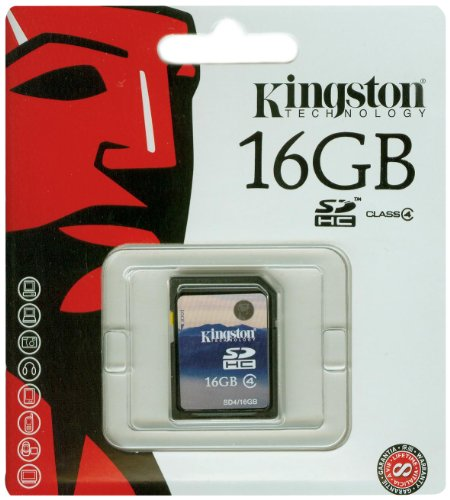 Kingston High-speed-sd-karte (Kingston Speicherkarte SD4/16GB SDHC Klasse 4 - 16GB)