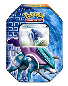 Pokémon PL Tin Deck Box #16 Suicune: Amazon.de: Spielzeug