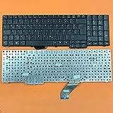 kompatibel für Acer Aspire 7520, 7700, 7720 Tastatur - Farbe: schwarz - Deutsches Tastaturlayout