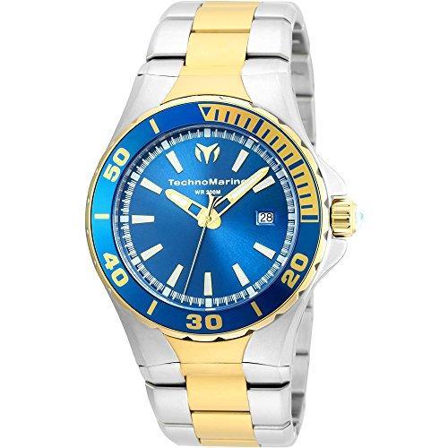 technomarine-sea-manta-herren-armbanduhr-44mm-zwei-ton-quarz-analog-tm-215003