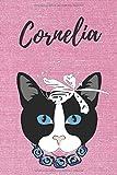 Cornelia Notizbuch Katze / Malbuch / Tagebuch / Journal / DIN A5 / Geschenk:...