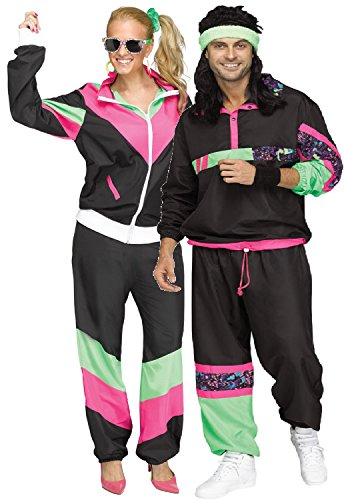 Couples Ladies & Mens 80s Shell Suits Pack - 10-12, 12-14