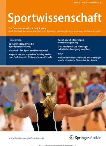 Sportwissenschaft [Abonnement jeweils 4 Ausgaben jedes Jahr]