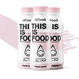 """YFood Berry – Bekannt aus """"Die Höhle der Löwen"""" – Ausgewogene Trinkmahlzeit (12 x 500kcal) – 25% der täglichen Nährwerte – 33g Protein, Omega 3, Ballaststoffe, 26 Vitamine & Minerale"""