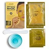 Masque modelant magique pour le visage JoLee à l'or 24 carats [2 UTILISATIONS PAR...