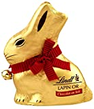 lindt lapin or lait 50 g - lot de 4