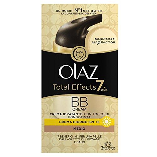 Olaz Total Effects 7 in 1 BB Cream Crema idratante con un tocco di fondotinta Scuro 50 ml