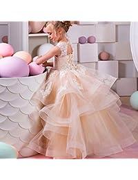 e099a98db Vestido de baile Vestido de boda de los niños Brote Pantalla de seda  Presentación de hilados