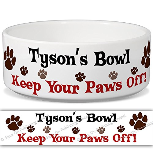 tysons-bowl-keep-your-paws-off-personalised-name-ceramic-pet-food-bowl-180mm-x-77mm-large