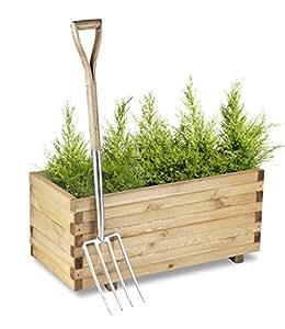 Jardinière Surélevée en Pin Rectangulaire – Hauteur 40cm x Largeur 90cm