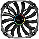 CRYORIG XT140 Computer case Fan - Computer Cooling Components (Computer case, Fan, 14 cm, 700 RPM, 1300 RPM, 20 dB)