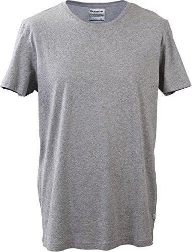 Resteröds - Original - T-Shirt 'No.3' für Herren - Rundhals - Grau - Grösse 2XL | 8 | 56 - Produkte Beliebteste