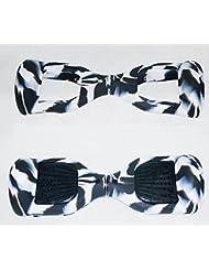 Zebra silicona protectora arañazos carcasa Funda Piel para 6,5pulgada Smart Auto Equilibrio Scooter eléctrico Hover Board
