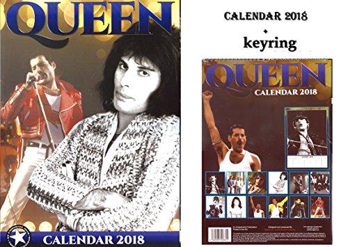 Queen calendario 2018+ Queen portachiavi