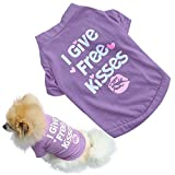#5: LoveFurPaws Cute Cotton Tshirt for Small Dogs/Puppies/Cats (Available in 3 Sizes)