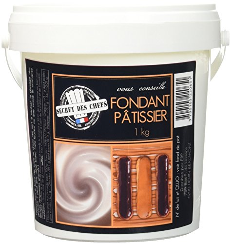 Secret des chefs Fondant Pâtissier 1 kg - Lot de 2