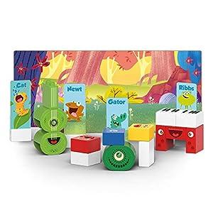 BIOBUDDI Swampies BB-0147 Juguete de construcción - Juguetes de construcción (Juego de construcción, Multicolor, 1,5 año(s), 29 Pieza(s), Niño/niña, Niños)