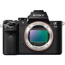 Sony Alpha 7M2 Fotocamera Digitale Compatta, Obiettivo Intercambiabile, Sensore CMOS Exmor Full-Frame da 24.3 MP, Nero