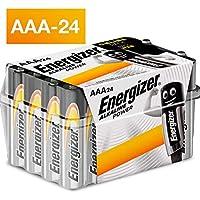 Energizer AAA Batteries, Alkaline Power Triple A Batteries, 24 Pack