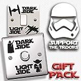 inspir? les murs????Star Wars Coffret cadeau???Dark Side lumi?re c?t? Interrupteur,...