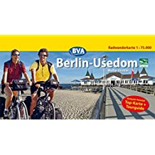 Berlin-Usedom, Kompakt-Spiralo, Radwanderkarte, 1 : 50 000