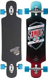 Longboard Skate Sector 9 SPRocket - Red