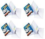 12er Set Einladungskarten für den Kindergeburtstag Star Wars Avengers Cars (Thomas)