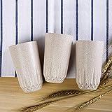 YUANHAO Tazza della Tazza dei Bambini della Fibra dei Husk del Grano di Lavaggio della Tazza Tazza di tè dell'ufficio Tazza del Diamante Tazza di frumento 201-300ml (3 Pacchetti)