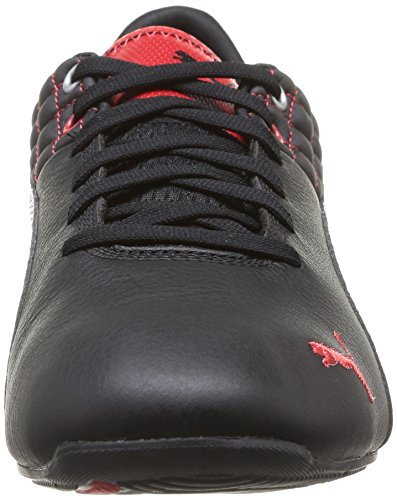 Puma Drift Cat 6 SF Flash Unisex-Erwachsene Sneakers Schwarz (black-rosso corsa 02)