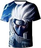 SERAPHY Unisexe T-Shirt Manga Japonais Top d'été Top Mode Personnage de Dessin Shirt T-Shirt pour Les garçons et Les Filles Les Femmes et Les hommes-447-S