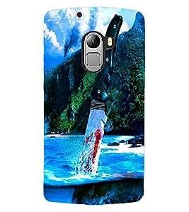 ColourCraft Creative Image Design Back Case Cover for LENOVO A7010