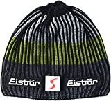 Eisbär New Star SP Gorro, otoño/Invierno, Unisex Adulto, Color Schwarz/Anthrazit/Lime/White, tamaño Talla única