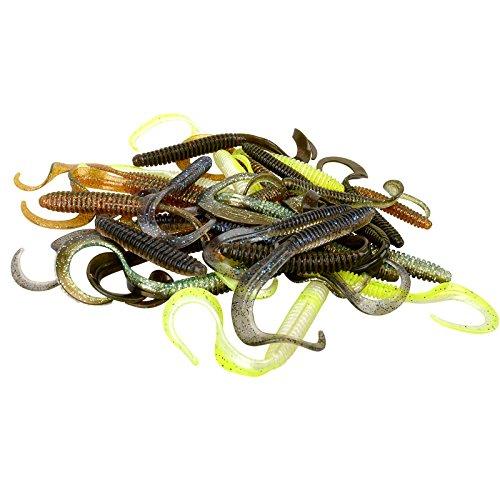 Savage Gear Rib Worm Kit (47 Teile), Gummiwürmer, Haken, Wirbel, Perlen, Angelset zum Barschangeln, Zanderangeln, Hechtangeln, Barschköder, Hechtköder, Zanderköder (Savage Teile)