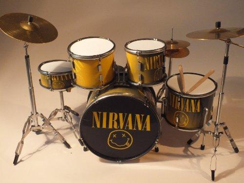 RGM355 Dave Grohl Nirvana Miniaturschlagzeug
