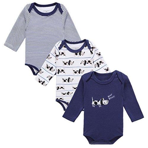 t Neugeborenes Baby Jungen Mädchen Kleidung Kleinkind Niedlich Gedruckt Strampler Jumpsuit Pyjamas Outfits (# 2, 75/6-9 Monate) (Kleinkind Halloween Kostüme 2017)