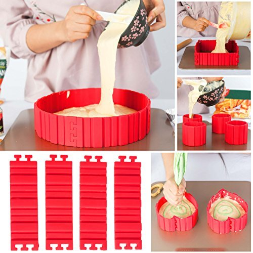GETKO-WITH-DEVICE-Reusable-Non-Stick-Silicone-Cake-Mold-4-Pieces-Red-74x216-inch