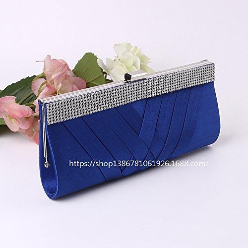 Die Neue, Hochwertige, Handtaschen, Abend - Tasche, Hand - Tasche, Umhängetasche blue