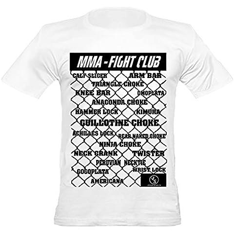 Lucha contra el club de los hombres de Shaolin urbanas MMA Presentación Sostiene Equipada T Shirts, Varios Colores