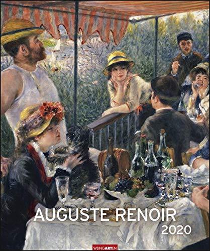 Auguste Renoir Edition. Wandkalender 2020. Monatskalendarium. Spiralbindung. Format 46 x 55 cm