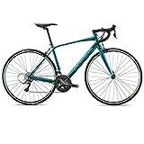 ORBEA Avant H60 Rennrad 16 Gang Fahrrad Bike Aluminium Leicht Shimano Straße Herren Damen, I101, Farbe Blau Grün, Größe 53